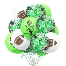 12inch Football Latex Balloons Happy Birthday Party Decoration Kids Boy Supplies Baby Shower