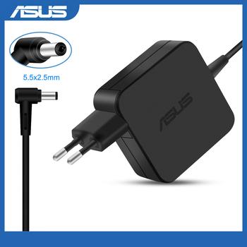 19V 2 37A 45W 5 5 #215 2 5mm adapter ac ładowarka zasilająca dla Asus A52F X450 X450L X550V X501LA X550C X551CA X555 ładowarka do laptopa tanie i dobre opinie NONE CN (pochodzenie) 19 v ADP-45DW A Other Power supply Check it before shipping 5 5x2 5mm
