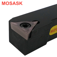 MOSASK STFCR Boring Bar Adapter STFCR2020K11 Toolholders Machining Cutters CNC Lathe External Turning Tool Holders