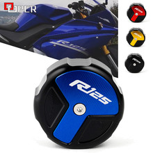 For YAMAHA YZFR125 YZF R125 Motorcycle Accessories Rear Brake Fluid Reservior Cover 2014 2015 2016 2017 2018 2019 2020