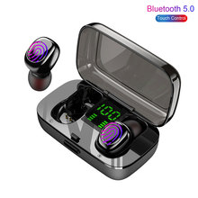 XG23 IPX6 Waterproof Earphones For Swimming TWS Wireless Bluetooth Earphone Touch Headset Gaming Spo