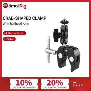 Image 1 - Smallrig Multi Functionele Krab Vormige Klem Met Balhoofd Arm Voor Dji Stabilizer/Freefly Stabilizer/Video C Stand Clamp Kit 2161