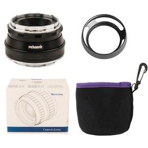 Image 5 - Pergear 25 millimetri f1.8 Prime Lens per Tutti I Singoli Series per Sony E Mount per Fuji Mount Micro 4/3 Della Macchina Fotografica a7 A7II A7R A6500 A6300 A6400