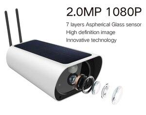 Image 4 - Miễn Phí Vận Chuyển 2MP Năng Lượng Mặt Trời Camera Sim 4G IP Bullet Camera Sạc 4G Camera Quan Sát Ngoài Trời Với camera Wifi 1080P