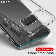 Caso de Telefone claro Para Samsung Galaxy A51 A50 A70 A71 A81 A90 A91 A60 S20 Ultra S10 S9 S8 S7 Além de Casos À Prova de Choque Nota 20 10 Lite