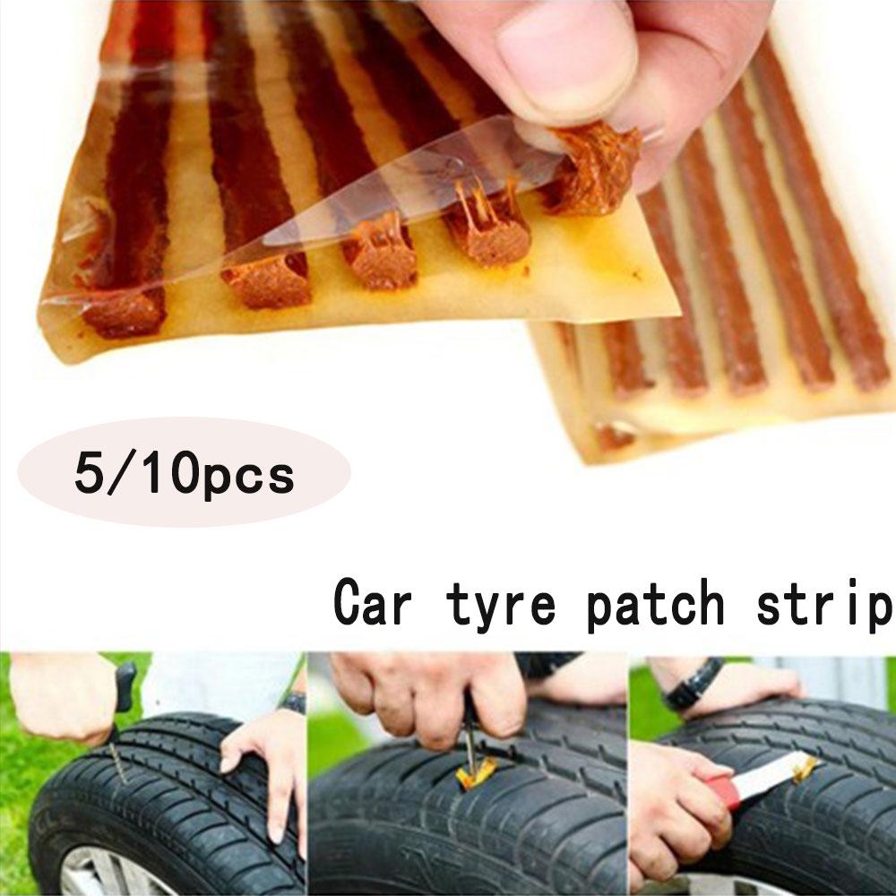 Car Tire Repair Tool Tire Steel Film Cold Repair Vacuum Tire Repair Tape 100*6mm Accessories