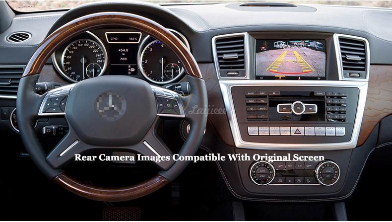 Mercedes-Benz  M ML W166 2012~2014 Rear Camer Kit (5)