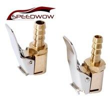 SPEEDWOW 1 шт., автомобильный воздушный насос, зажимной зажим, автомобильный Грузовик, шина, надувной клапан, автомобильные аксессуары, 6 мм, 8 мм, зажим, высокое качество