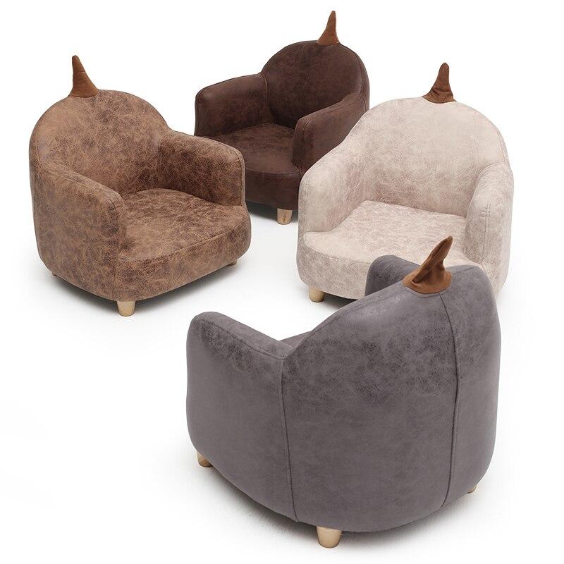 Children's Small Sofa Chair Cartoon Girl Princess Baby Single Cloth Sofa Chair Lovely Boy Lazy Sofa Furniture Ottoman Nordic