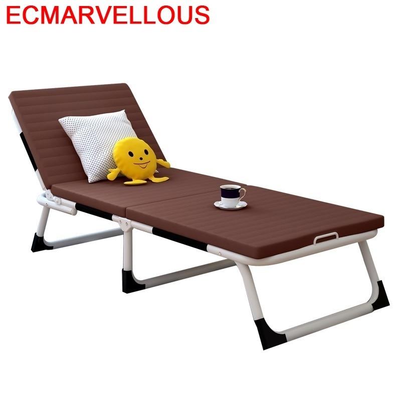 Ogrodowe Silla Playa Patio Mueble Salon De Exterieur Tumbona Para Jardin Garden Folding Bed Lit Outdoor Furniture Chaise Lounge