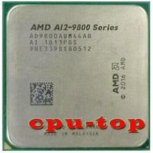 Amd A12-Series A12-9800 A12 9800 3.8 Ghz Quad-Core Cpu Processor AD9800AUM44AB/AD980BAUM44AB Socket AM4