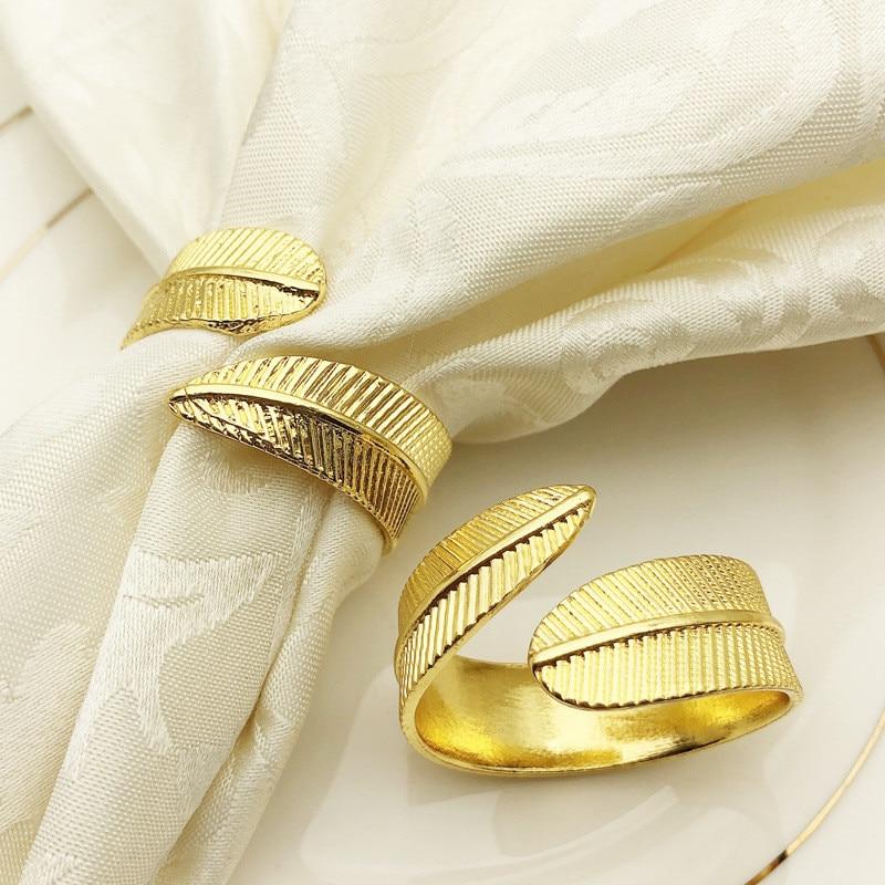 Anéis para guardanapo