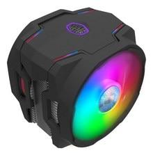 Cooler Master T610P ARGB 6 Heatpipe ventilateur refroidisseur de processeur Double 120mm ARGB ventilateur avec contrôleur pour Intel 115x2011 2066 AMD AM4 AM3