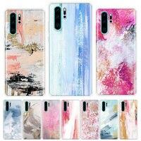 Pintura caja del teléfono para Huawei Honor Y5 Y6 Y7 Y9 Y9 9 10 20 Lite Pro 7A 7X 8S 8X 8A 9X 1020i 2019 cubierta Coque