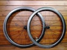T1000 UD 700C 45mm עומק משטח גומה דיסק בלם סיבי פחמן כביש אופני גלגלי דיסק אופניים זוג גלגלי תוצרת טייוואן