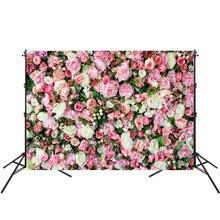 Arrière-plan en vinyle pour Studio Photo, 150x210cm, toile de fond de photographie murale florale, accessoire Photo pour fête de mariage