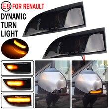 Cho Renault Megane MK3 Laguna III X91 Danh Lam Thắng Cảnh Fluence Vĩ Độ Safrane LED Năng Động Nhan Gương Tuần Tự Đèn Báo