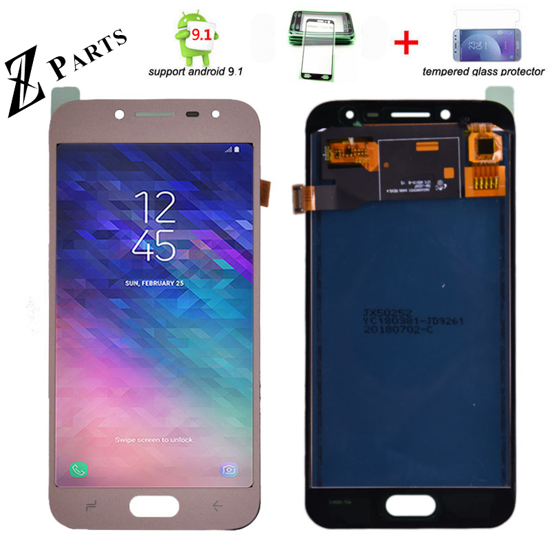 Para Samsung Galaxy J2 pro 2018 J250 J250F pantalla LCD y pantalla táctil digitalizador montaje Ajustar brillo envío gratis