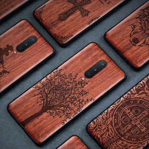 Real Wood Oneplus 8 Case For O