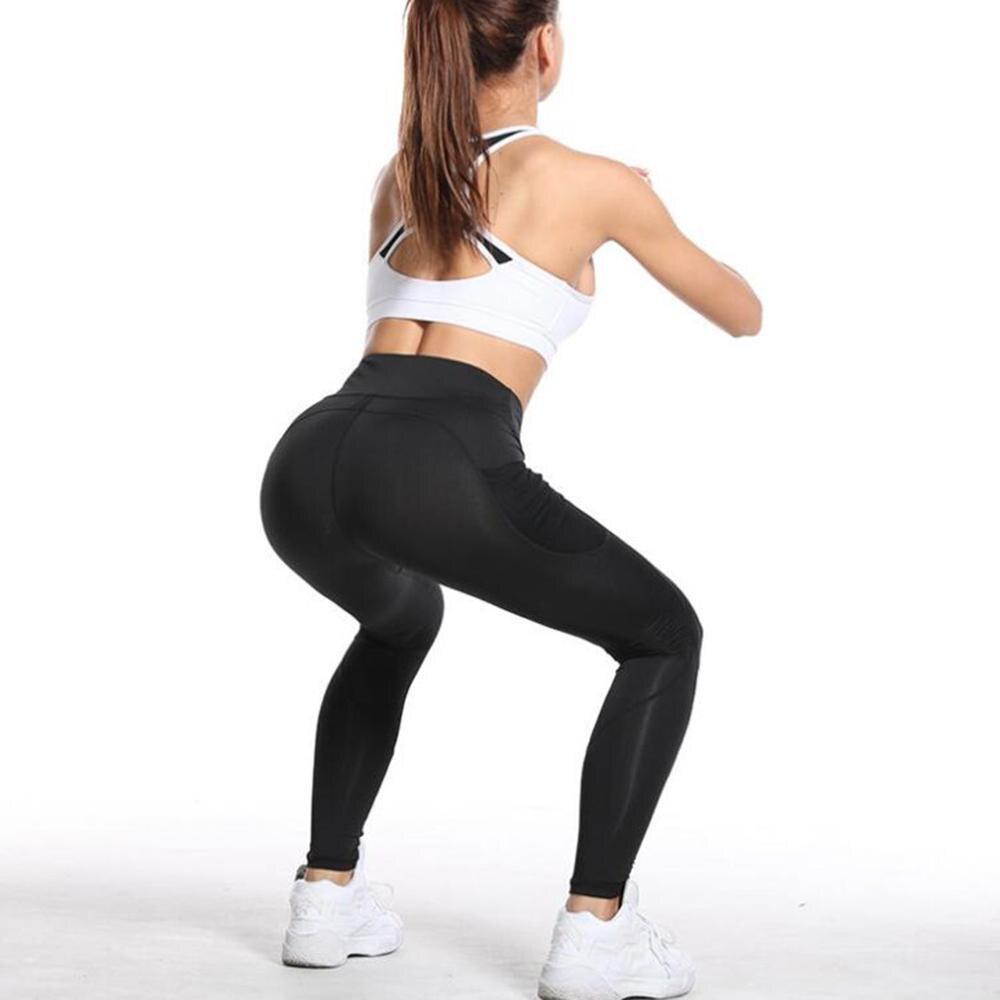 Women Sports Activewear Mesh Panel Workout Leggings Mesh Active Fit Gym S-XL