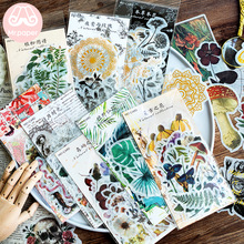 Deco Stationery Stickers Scrapbooking Bullet Journal Plant-Style Forest Mr.paper Vintage