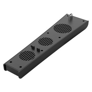 Dla PS5 USB chłodnicy z 3 wentylatory chłodnicy dla konsoli PlayStation 5 5 cyfrowy edycja konsola do gier akcesoria dla Sony PS5 tanie i dobre opinie ALLOYSEED CN (pochodzenie) USB Cooler For PS5