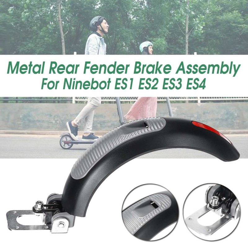 Electric Scooters Rear Mudguard Upgrade Metal Alloy Plastic Brake Guard Fenders Assembly For Ninebot ES1 ES2 ES3 ES4