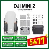DJI Mini 2 Drone / Mini 2 fliegen mehr combo mit 4K zoom kamera 10km Übertragung Abstand Mavic mini 2 marke neue original auf lager