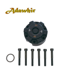 1 sztuka x dla TOYOTA Landcruiser PRADO V8 wolne koło piasty B001 43530-69065 4353069065 ze stopu aluminium ze stopu aluminium