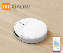 XIAOMI MIJIA Robot Vacuum Cleaner 1C for Home Wet Mopping Auto Sweeping Dust Sterilize 2500PA cyclone Suction Smart Planned Map dibea gt200 smart gyroscope robot vacuum cleaner for home automatic sweeping dust sterilize smart planned washing mopping