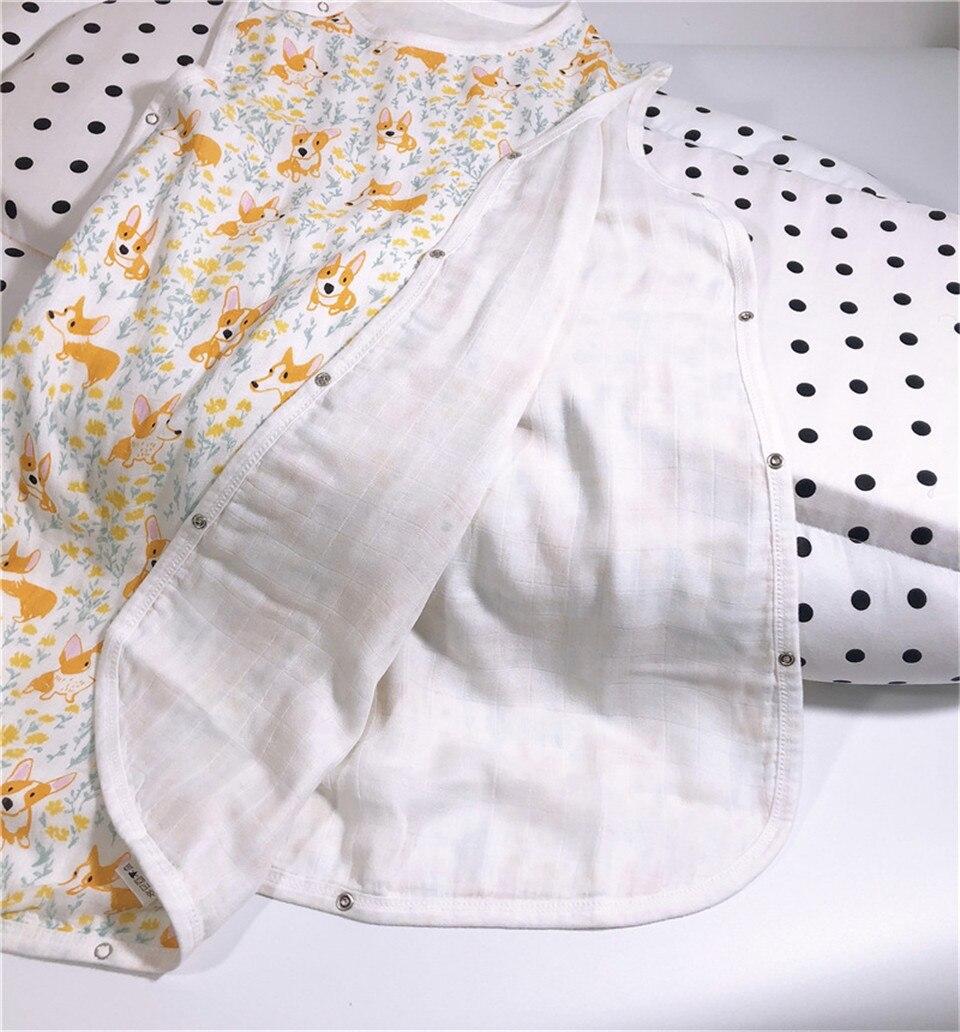 4 camadas de bambu algodão gaze bebê