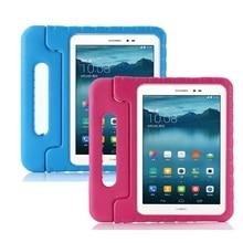 Pour Huawei MediaPad T3 10 / T3 9.6 Cas Enfants Tablette À main EVA Antichoc Couverture Complète Du Corps pour AGS L09 AGS L03 AGS W09