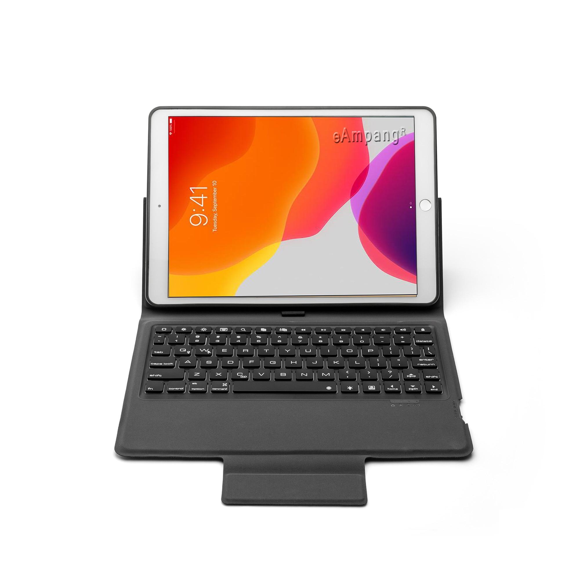 Image 3 - 7 Backlit Keyboard Case For Apple iPad 10.2 2019 7 7th Gen  Generation A2197 A2200 A2198 A2232 Case for iPad 10.2 Keyboard  CoverTablets