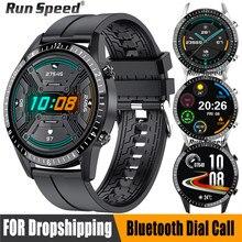 2021 Смарт-часы для мужчин вызовов через Bluetooth музыкальный плеер сердечного ритма ip67 водонепроницаемый смарт-часы для фитнеса Для HuaWei Android IOS ч...