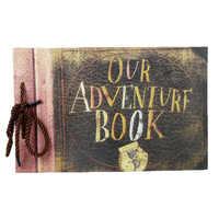 Nos livres d'aventure Pixar Up Album à faire soi-même photos Album mariage voyage bricolage Album Photo photos de famille Album Photo