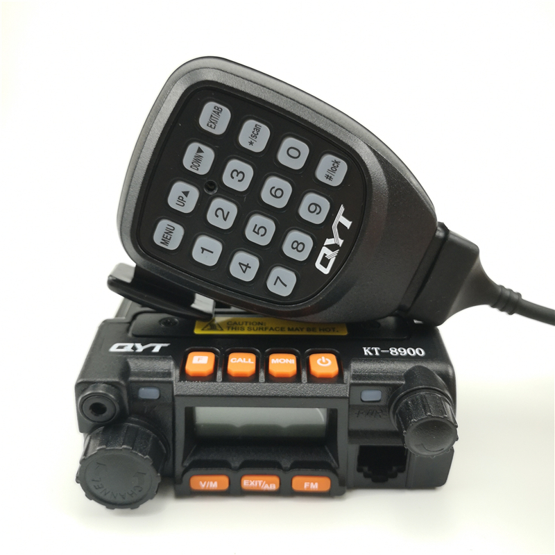 100% Original QYT KT-8900 Long Range Mini Car Radio Dual Band Mobile Radio Vehicle Mounted Transceiver CB Radio Walkie Talkie