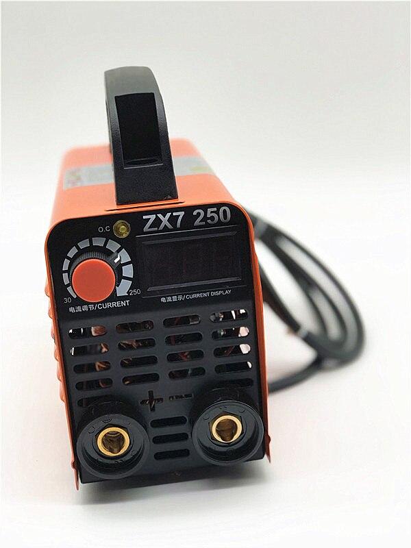 zx7 Series DC 250A 110-250V Compact Mini MMA Welder Inverter ARC Welding Machine Stick Welder