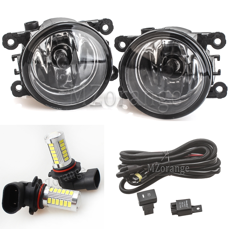 For <font><b>Ford</b></font> for Focus MK2 Fog Lights for <font><b>ford</b></font> for focus 3 LED headlight for <font><b>Ford</b></font> <font><b>Fusion</b></font> Fiesta Transit 2001-2015 fog light fog lamp image