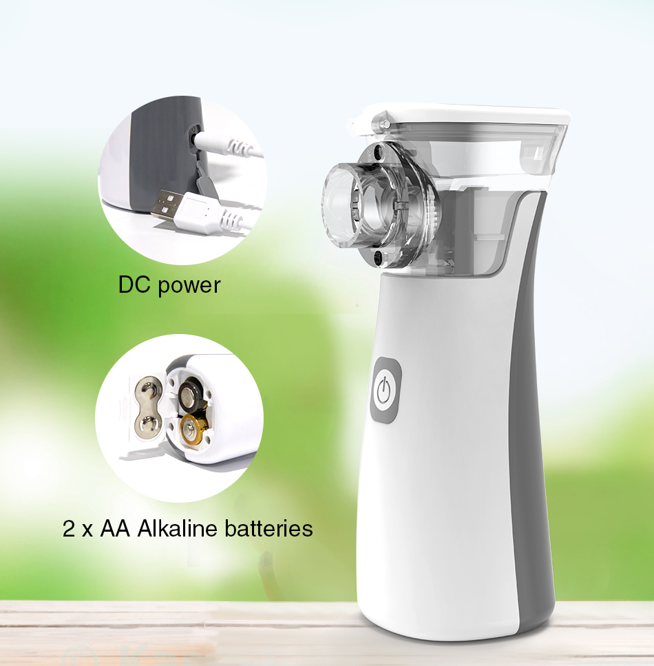 BGMMED Medical Nebulizer Machine with Automatic Cleaning Mode for Prevention of Viral Infection 9