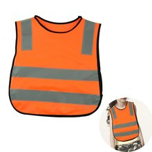 Reflective Vest High Visibility Child Student Kid Reflective Vest Soccer Cycling Safety Vest Jacket Road Traffic Sanitation New
