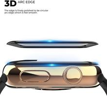 3D Curved Edge HD Tempered Glass for Apple Watch Series 3 2 1 38MM 42MM Screen Protector film for iWatch 4 5 6 SE 40MM 44MM cheap ProBefit CN(Origin) Scratch Proof for apple watch screen protector for apple watch temepered glass for apple watch glass film