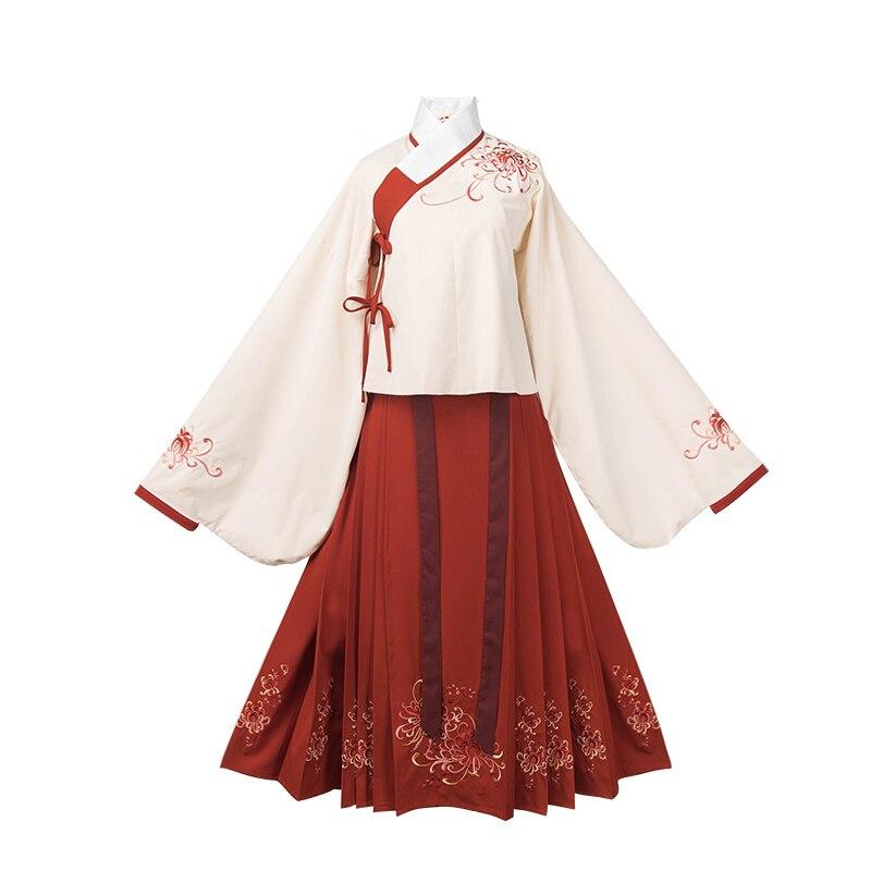 Geleneksel peri Cosplay kostümleri kadın halk dans elbise antik kostümleri Hanfu çin Tang hanedanı klasik giyim