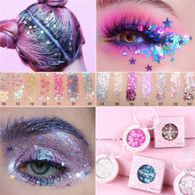 Shimmer olho diamante lantejoulas sombra duradoura shimmer glitter sereia lantejoulas gel highlighter maquiagem festival festa cosméticos