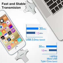 HUITENG 4 in 1 design Usb Flash Drive Usb Stick 3.
