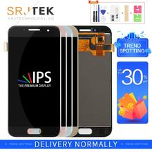 TFT Srjtek A320F LCD For Samsung A3 2017 LCD A3 Display Touch Digitizer Sensor Frame For Galaxy A3 A320 Screen A320F Display srjtek 10 1 for chuwi hi10 cw1515 hsctp 747 10 1 v0 lcd display with touch screen digitizer glass sensor replacement new parts