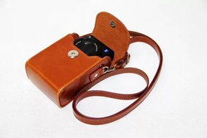 Image 3 - Vintage PU Leather Camera Case For Canon G9X G7X G7X Mark II G7XII G7X III SX730 SX700 SX720 S90 SX260 SX240 SX275 S90 S120 S110