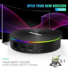 XGODY T95Q Smart TV Box S905X2 Quad-Core 2.4G Wifi Bluetooth