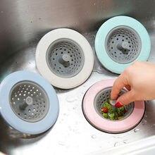 1 шт Силиконовый Фильтр для раковины фильтр кухонные аксессуары