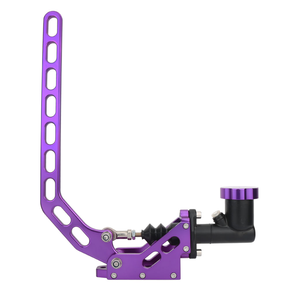 RACING E-BRAKE HYDRAULIC DRIFT HANDBRAKE NEO CHROME LEVER GEAR AND OIL TANK P3