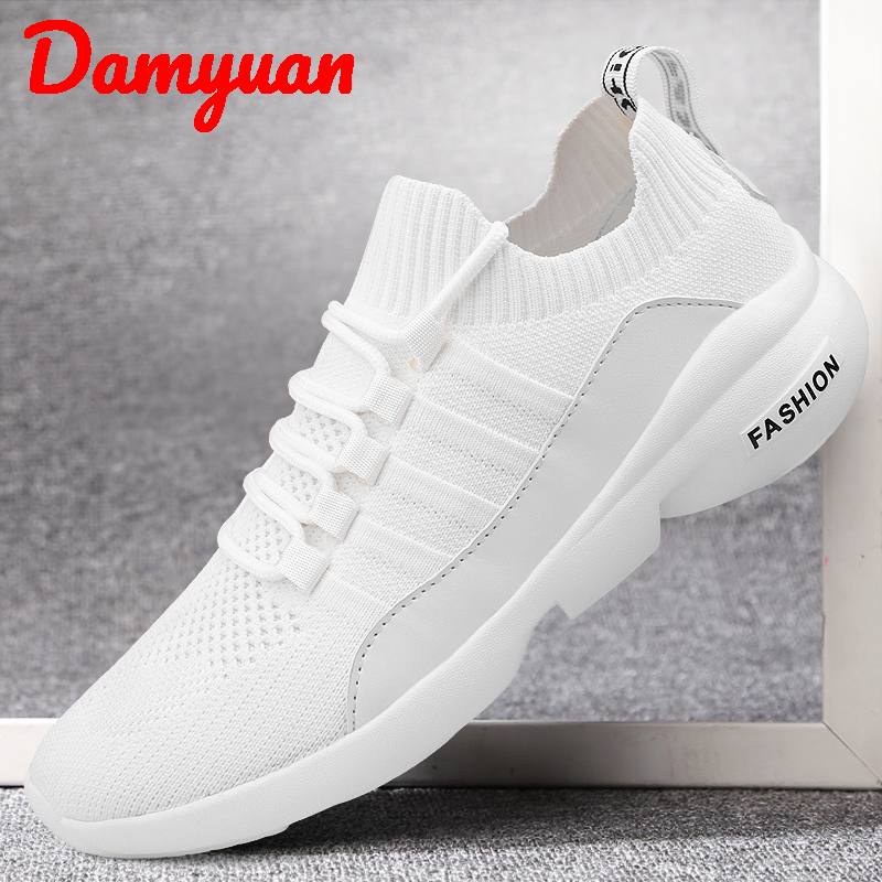 Dayuan New Autumn and Winter 2019 Shuttle Mens Fashion Air-permeable Sports Shoes Large Size 47 Outdoor Leisure Running